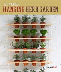 Vertical Garden Indoor Diy Diy Indoor Vertical Herb Garden