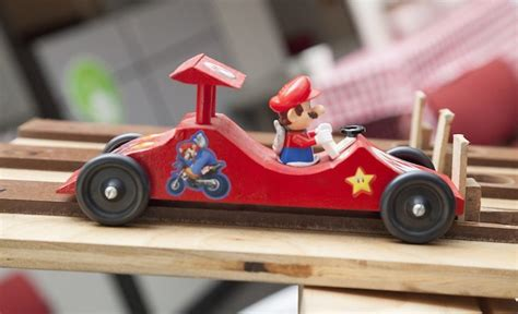 mario kart pinewood derby template derby days what the target creative team does in their