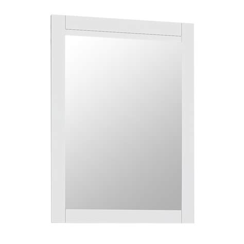 white frame bathroom mirror nottingham white framed mirror