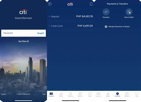 citibank mobile pay bills using the citibank mobile app noypigeeks