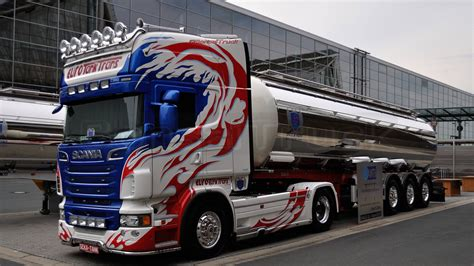 Sticker Tuning Poid Lourd by Scania Tanker Truck Search Scania Vabis