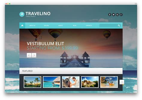 best travel agency 50 best travel themes for blogs hotels and