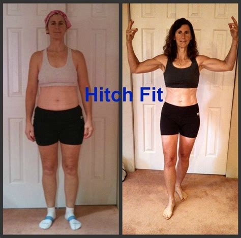 50 year old women before and after 53 year old mother of 2 gets in amazing shape with hitch