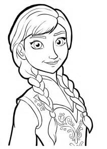 free elsa y ana coloring pages