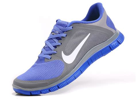 mens nike free 4 0 v3 running shoes affordable nike free 4 0 v3 mens running shoes white blue