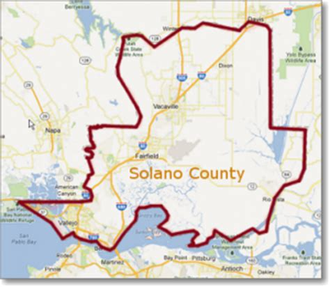 Solano County Search Solano County Map My