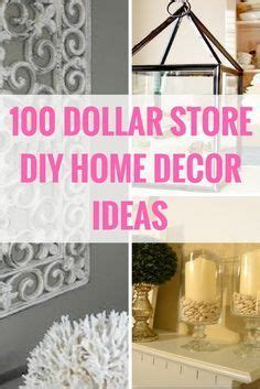 dollar store home decor best 25 budget home decorating ideas on pinterest home