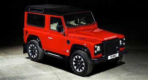 original land rover original land rover defender returns with 400hp v8 special
