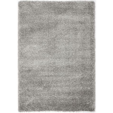 Silver Area Rug Nuloom Shag Silver 8 Ft X 10 Ft Area Rug Ozsg02o 8010 The Home Depot