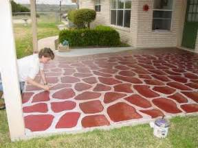 Faux Brick Patio by Bricks And Stones