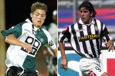 ronaldo juventus 2003 why manchester united chile legend marcelo salas to thank for landing cristiano ronaldo in