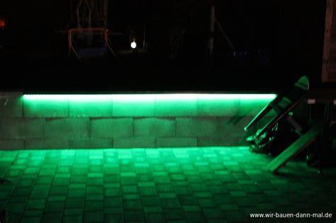 garten led beleuchtung mittels einer fernbedienung kann die lichtfarbe und