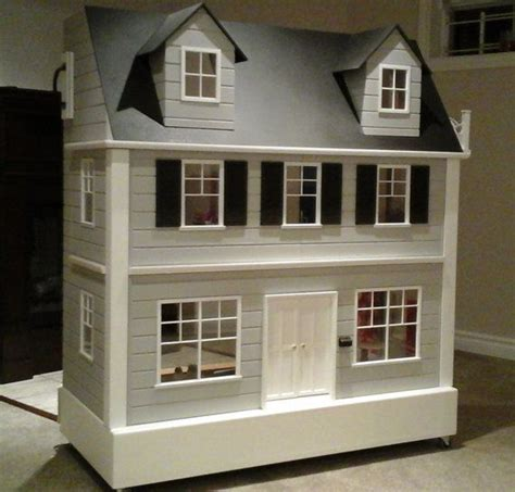 Handcrafted Doll Houses - one of a custom handcrafted size doll