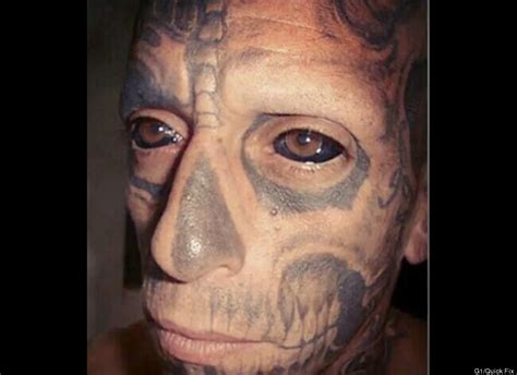 tattoo eyeball prison photo man tattoos his eyeballs information nigeria