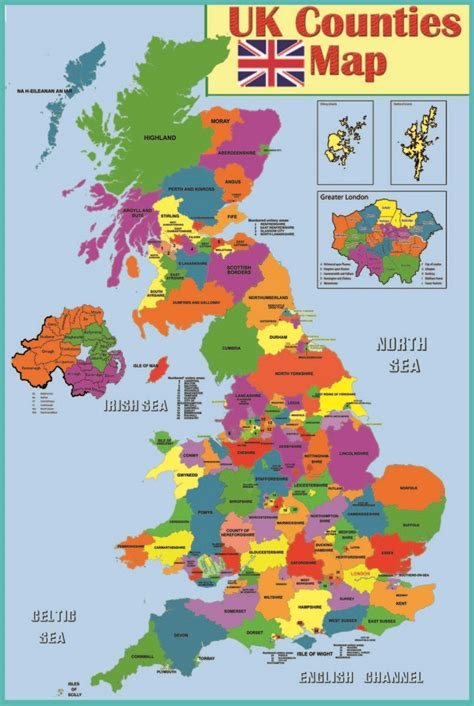 Uk Essay by Laminated Uk Counties Map Poster Wall Chart Uk Poster And Leathers
