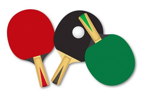 clipart vectors free rackets for table tennis vector free