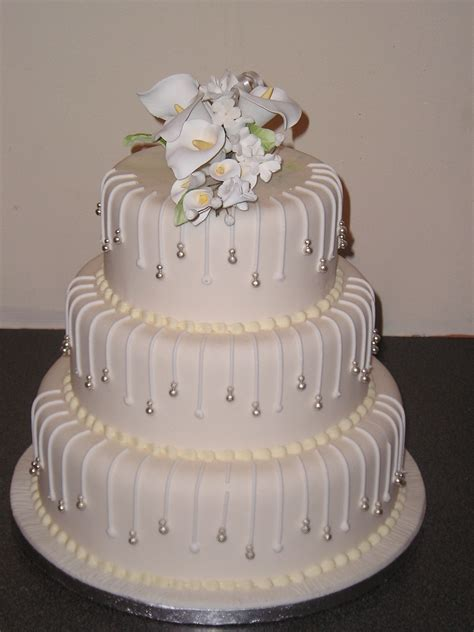 three tier 3 layer wedding cakes pictures cake decotions
