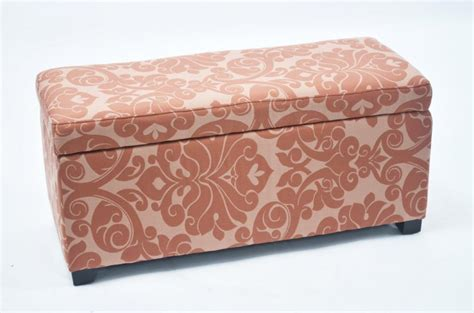 floral ottoman bolbolac floral fabric print storage ottoman