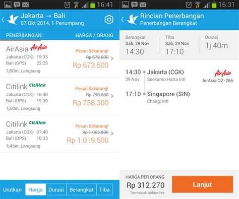 traveloka mempermudah pesan tiket  traveling