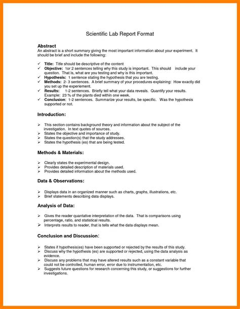 Resume Cover Letter Example by 6 Lab Report Structure Example Teller Resume