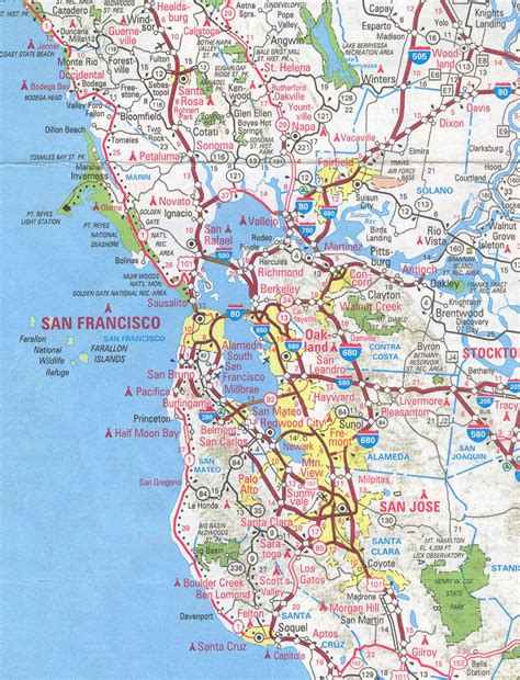 san francisco map berkeley maps sf bay area california 4 me 2