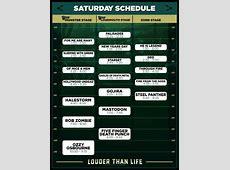 Louder Than Life Announces Performance Set Times | Danny ... Louder Than Life Festival