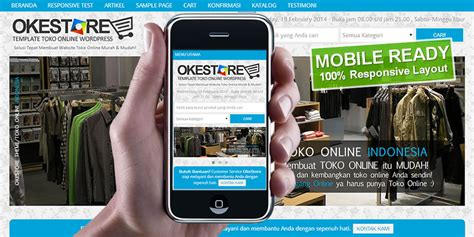 template toko online siap pakai paket toko online siap pakai oketheme com