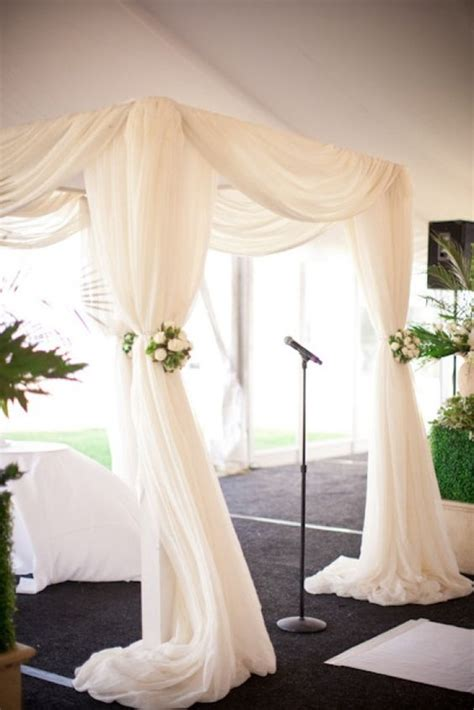 chuppah draping chuppah simple designs and the simple on pinterest