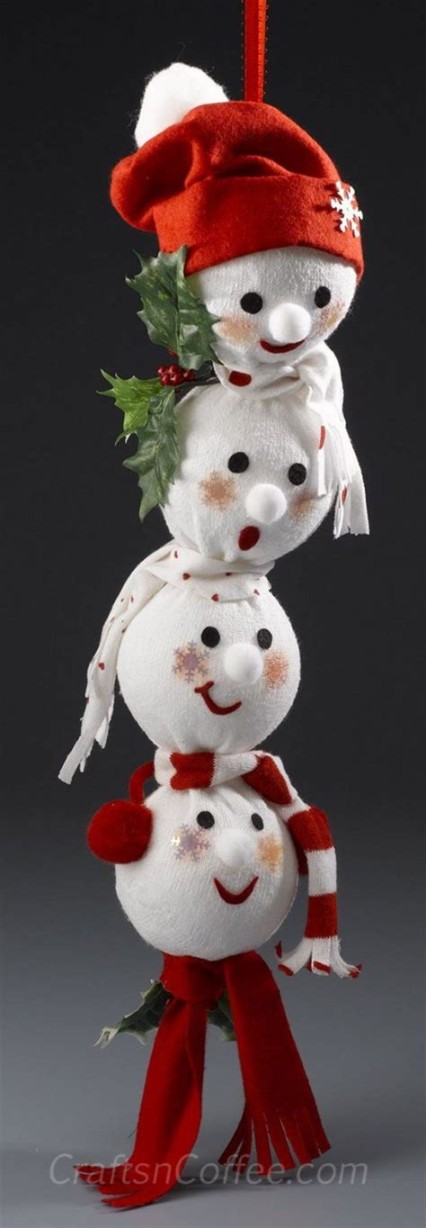 sock snowman is a and easy craft the whoot