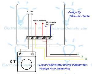 wiring diagram for a car ammeter diagram free printable wiring diagrams