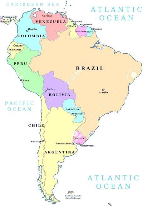 mapa politico de america con todos los paises mapa politico de america con todos los paises