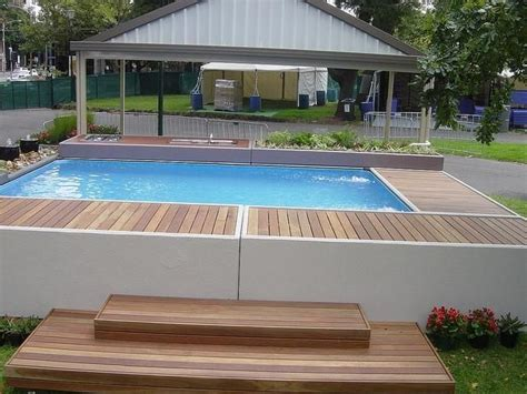 terrasse ideen 5198 17 best ideas about above ground pool cost on