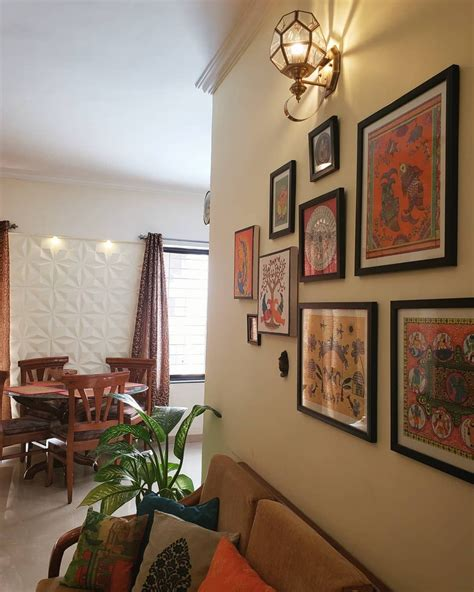 indian home indian decor living room decor gallery wall