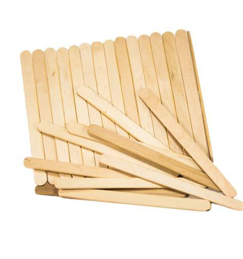 wooden ice cream sticks taster spoons craft sticks