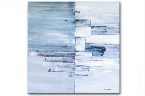 Tableau Ambiance Et Style by Tableau Moderne Carr 233 Gris Bleu Grand Format Tableau