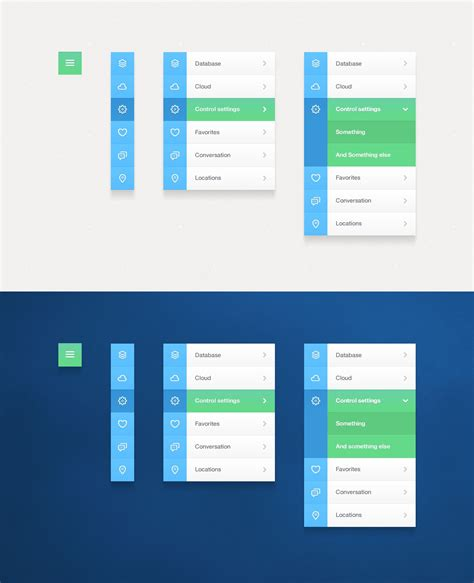 ui layout accordion various manifestations of navigation particularly in a