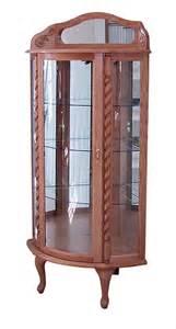 used curio cabinets on curio cabinet city
