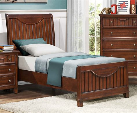 newcastle bed brown warm cherry homelegance alyssa youth bed warm brown cherry 2136tc 1