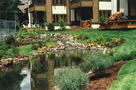 pond all seasons landscaping