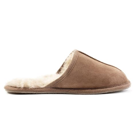 mens best slippers mens sheepskin slippers by idyll home notonthehighstreet