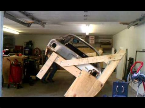 How To Build An Inexpensive Home by Wood Car Rotisserie Youtube