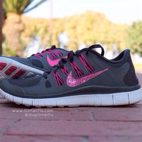 pink glitter nike shoes shoe envy