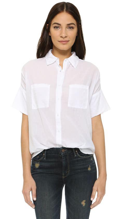 Sleeves Blouse White s white sleeve blouse collar blouses