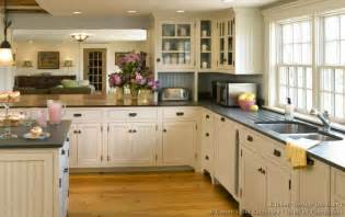 Country Kitchen With White Cabinets Pictures Of Kitchens Traditional White Kitchen Cabinets Kitchen 119
