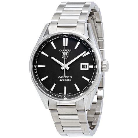 carrera watches tag heuer carrera automatic black dial men s watch war211a