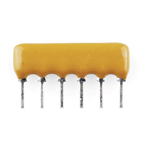 0 ohm resistor network resistor network 330 ohm 6 pin bussed 10855 karlsson robotics