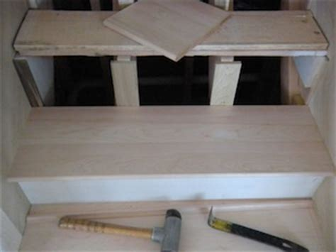 Staircase Installation Images, How To Install Wall To Wall