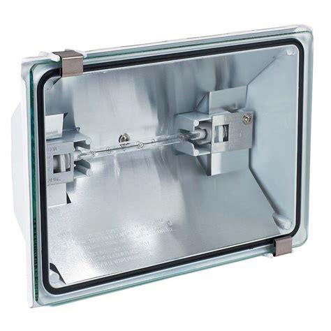 outdoor halogen light fixtures globe electric 500 watt outdoor white halogen security