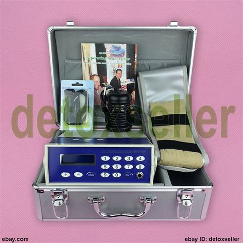 Pedicure Detox Machine by Ion Ionic Detox Foot Spa Cleanse Aqua Cell Bath Machine