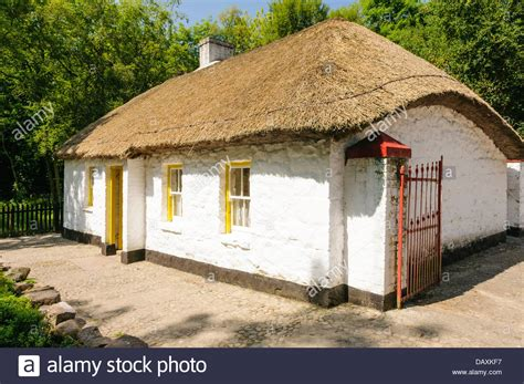 Thatched Cottage Ireland by Thatched Cottage Stock Photo Royalty Free Image